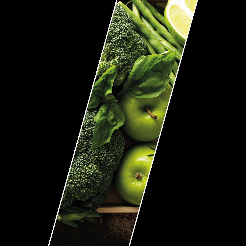 Gemüse in grün