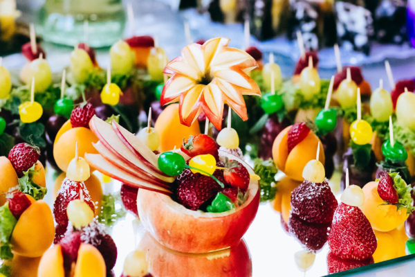 Buffet Früchte