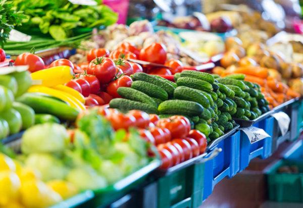 Große Auswahl an Gemüse